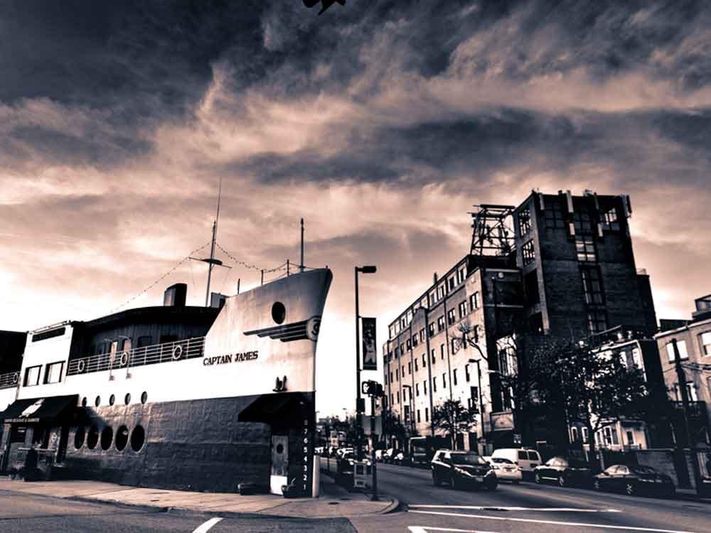 Baltimore, MD Captain James Restaurant - Metallic Photo Paper