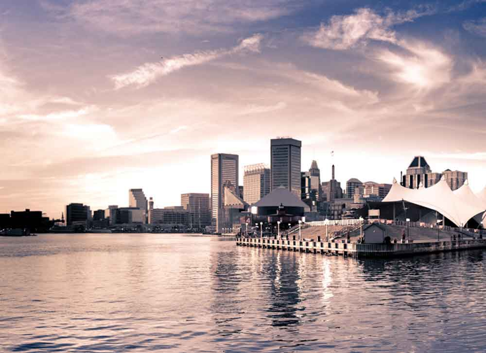 Baltimore, MD Pier Six Pavilion Canvas or Photo Paper
