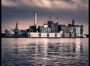 Baltimore, MD Domino Sugar Plant Canvas or Photo Paper