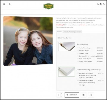 Upload and Print Photos, Posters, and Canvas