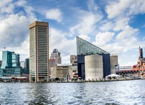 Baltimore, MD National Aquarium Canvas or Photo Paper