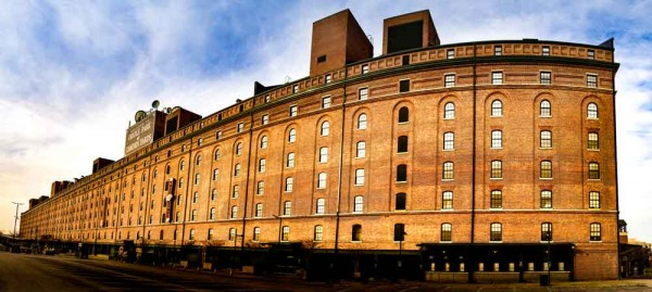 Baltimore, MD Camden Yards Warehouse Panoramic - Canvas or Photo ...