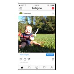 upload and print your instagram photos at the frame room